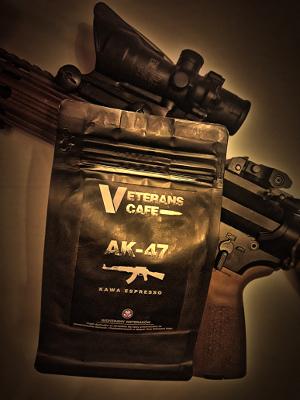 Veterans Cafe AK 47